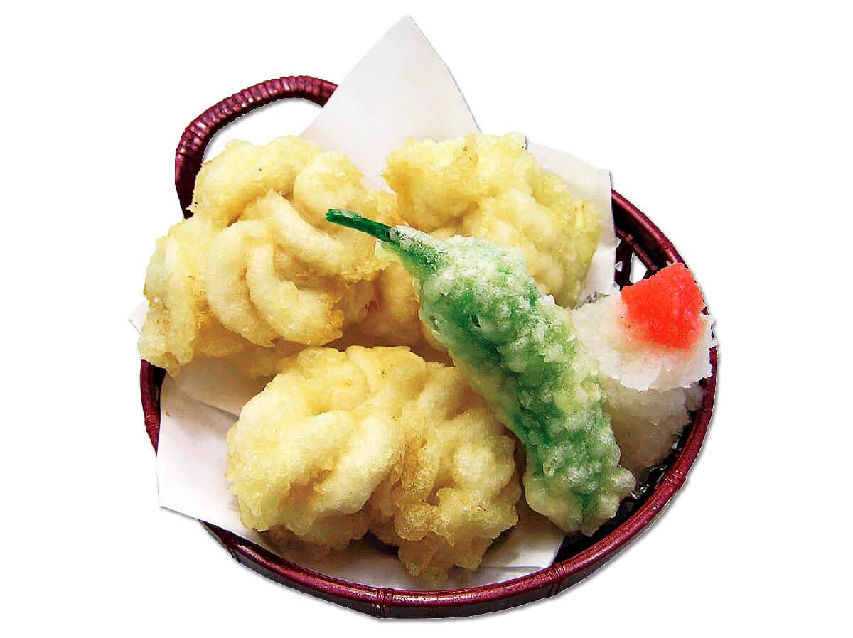 2位:白子の天ぷら