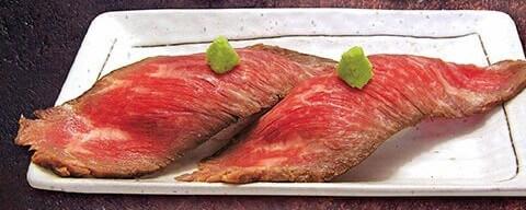 肉寿司ロースビーフ