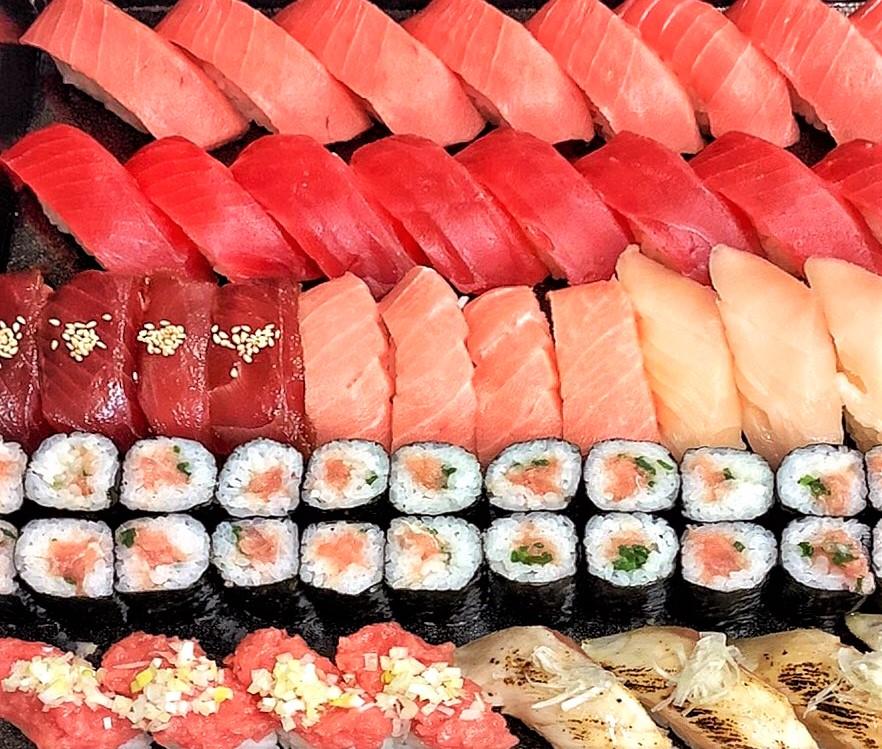 寿司を食べる順番